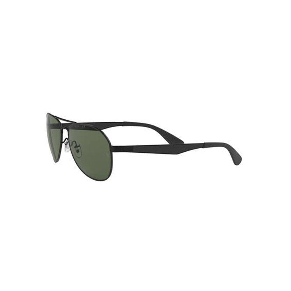 Load image into Gallery viewer, Ray-Ban Unisex Pilot RB3549 Sunglasses Matte Black