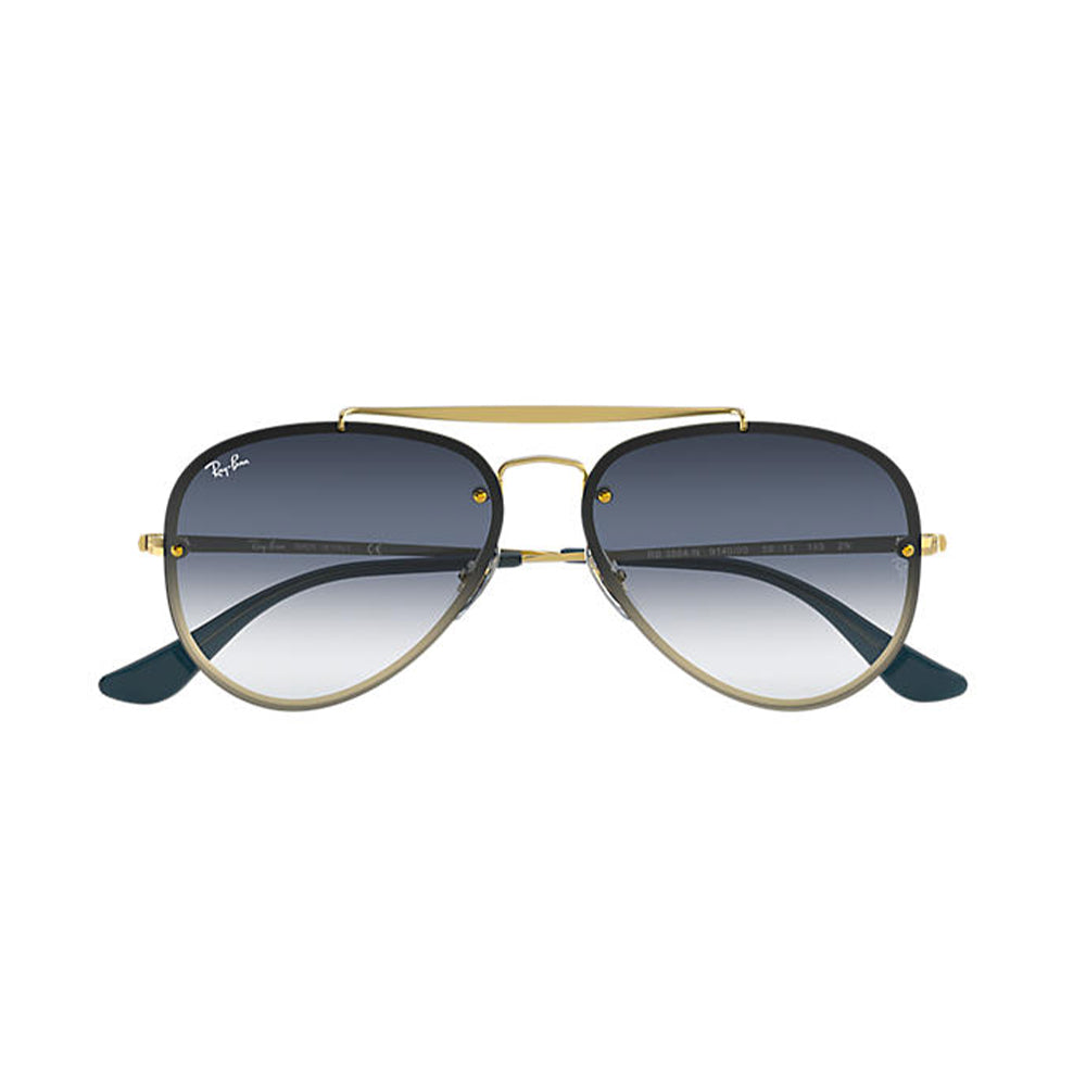 Load image into Gallery viewer, Ray-Ban Unisex Pilot RB3584N Blaze Aviator Sunglasses Demigloss Gold