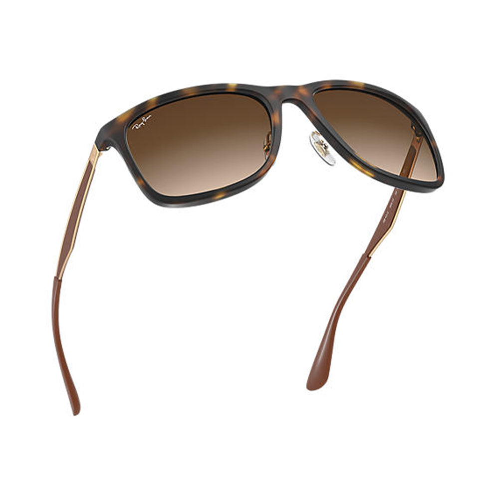 Load image into Gallery viewer, Ray-Ban Men's Square RB4313 Sunglasses Matte Havana