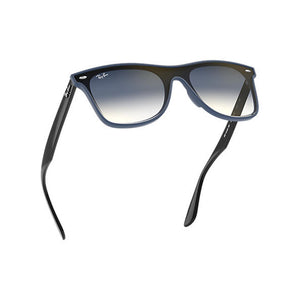 Load image into Gallery viewer, Ray-Ban Unisex Asian Fit Square 4440NF Sunglasses Blue/Black