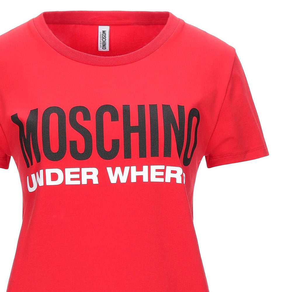 Load image into Gallery viewer, Moschino Underwear Women's Logo Shirt Red