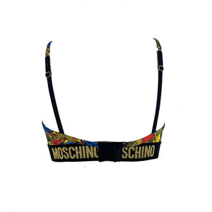 Load image into Gallery viewer, Moschino Underwear Women's Zodiac Graphic Sports Top