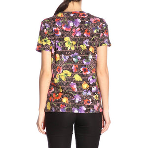 Load image into Gallery viewer, Moschino Swim Women's Floral Logo Print Shirt Pink