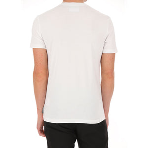 Load image into Gallery viewer, Versace Jeans Couture Men's Contrasting Logo Print Shirt White