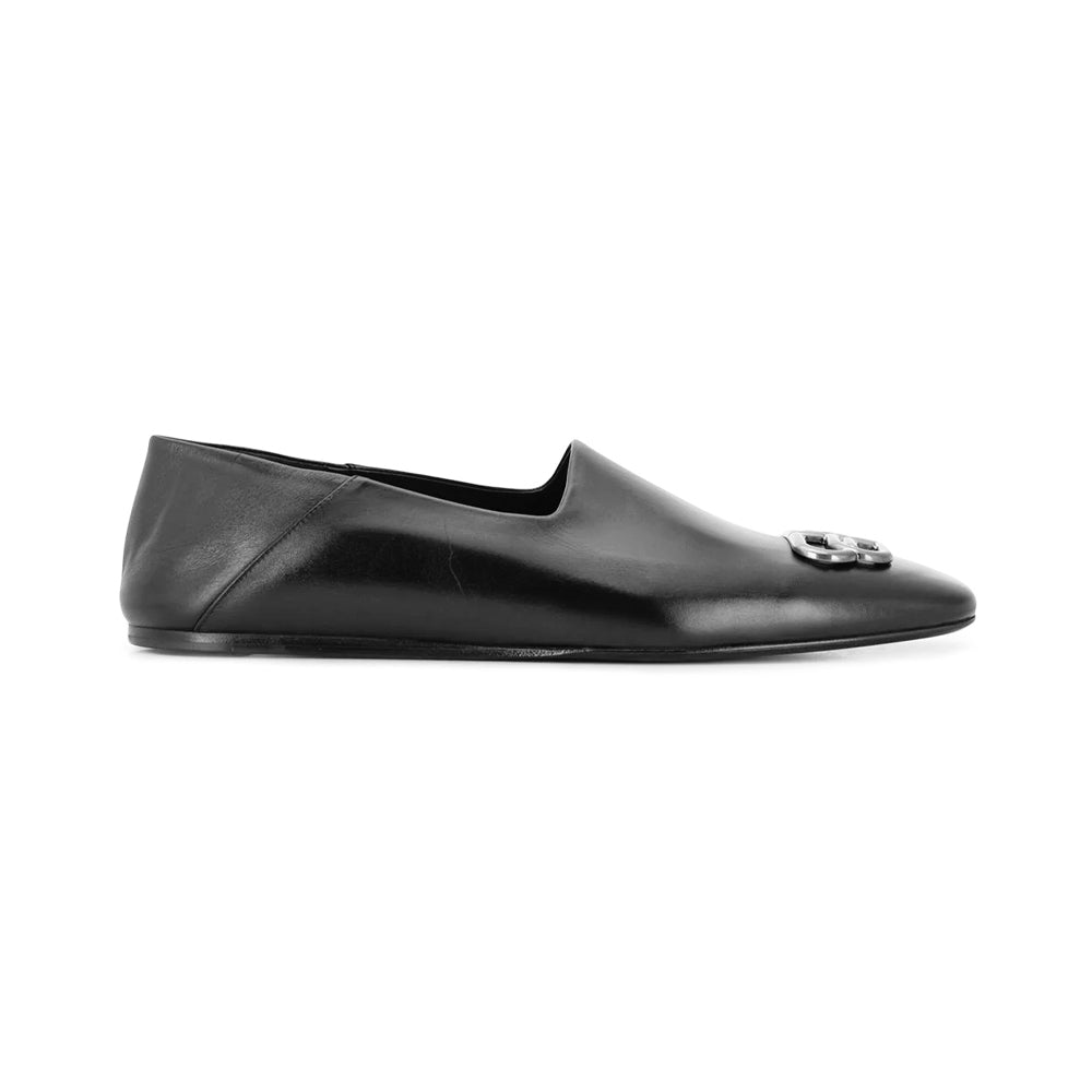 Load image into Gallery viewer, Balenciaga Men BB Logo Loafers Shoes