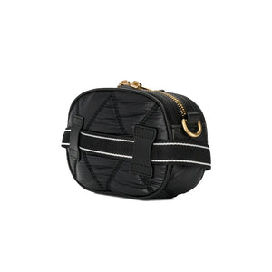 Load image into Gallery viewer, Moschino Couture Medium Quilted Nylon Crossbody Bag Black