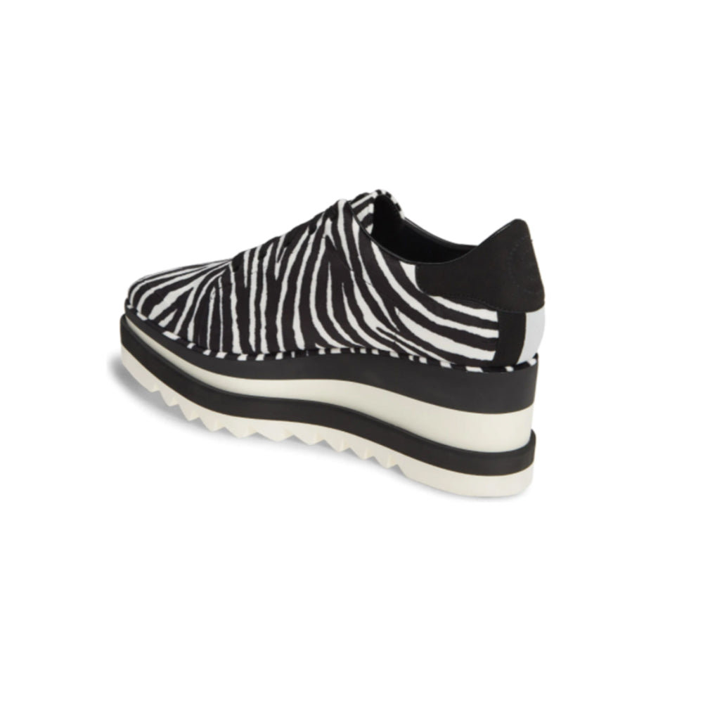 Load image into Gallery viewer, Stella McCartney Women's Elyse Platform Sneakers Zebra