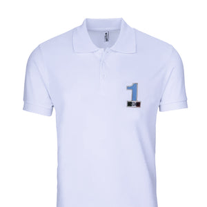 Load image into Gallery viewer, MOSCHINO Swim Men's Polo Shirt Cotton White