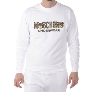Load image into Gallery viewer, Moschino Unisex Teddy Bear Logo Sweatshirt - White