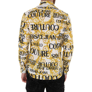 Load image into Gallery viewer, Versace Jeans Couture Men's Slim Fit Baroque Print Shirt