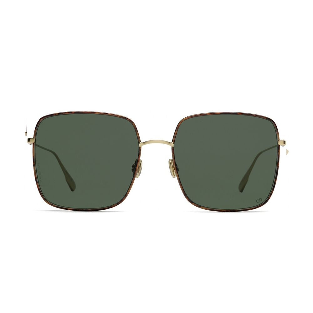 Load image into Gallery viewer, Christian Dior Stellaire Gold Havana Square Sunglasses