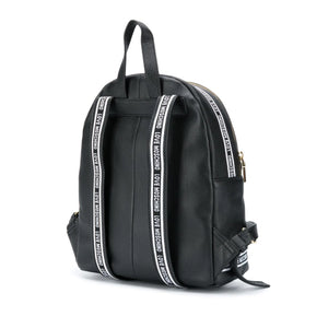 Load image into Gallery viewer, Love Moschino Pebble Leather Logo Backpack Black