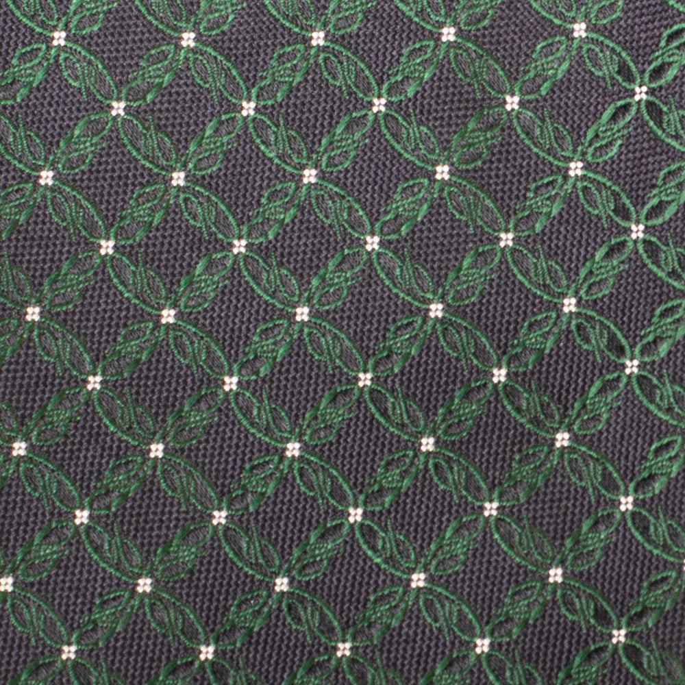 Load image into Gallery viewer, Brioni Men's Silk Pattern Tie Navy/Green