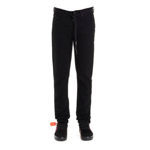 Load image into Gallery viewer, Off-White Men's Slim Denim Pants Black