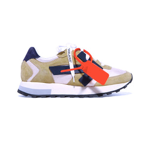 Load image into Gallery viewer, Off-White Women's HG Runner Appliquéd Suede and Shell Sneakers
