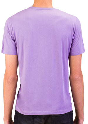 Load image into Gallery viewer, VERSACE COLLECTION Men Medusa Logo Crew Neck T-Shirt Purple