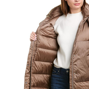 Load image into Gallery viewer, ADD Women's Long Down Jacket Brown