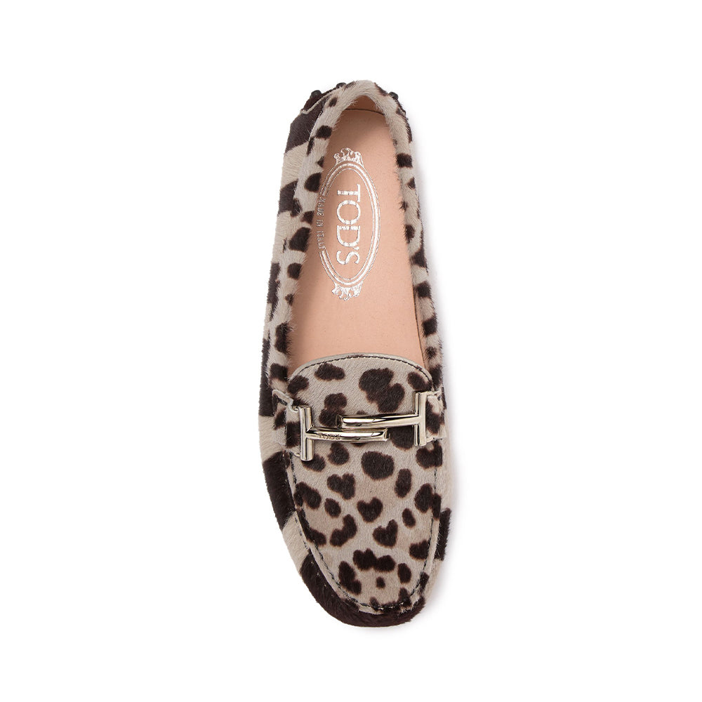 Load image into Gallery viewer, Tod's Women's Double T Loafers In Animal Print