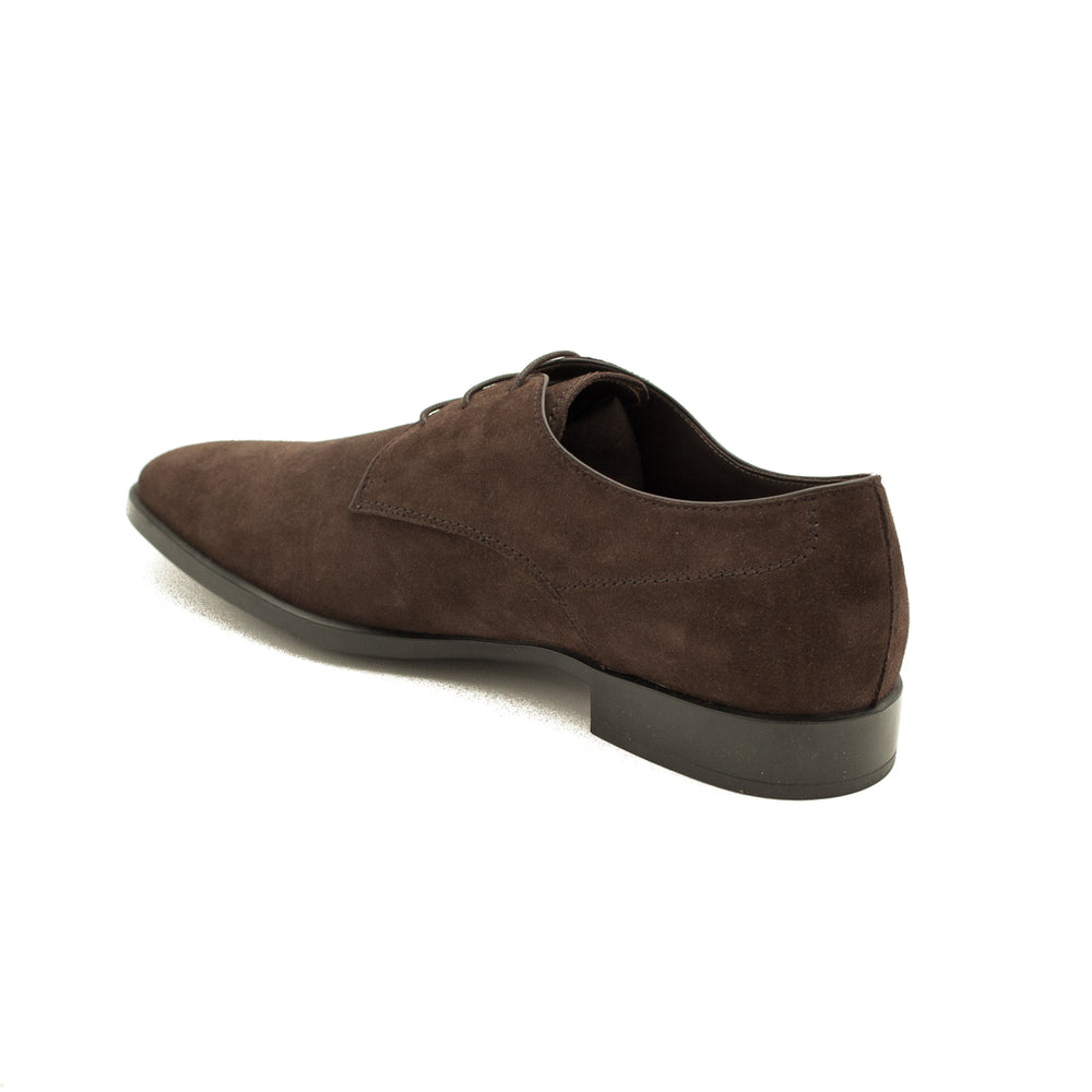 Load image into Gallery viewer, TOD'S Men's Suede Derby Oxford Dress Shoes Brown