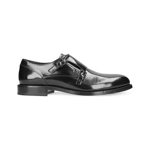 Load image into Gallery viewer, TOD'S Men's Patent Leather Monk Strap Loafer Shoes Black