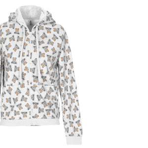 Load image into Gallery viewer, Moschino Underwear Teddy Bear All Over Sweatshirt White