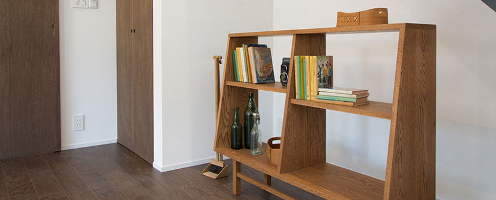 Book Case wide_デザイン