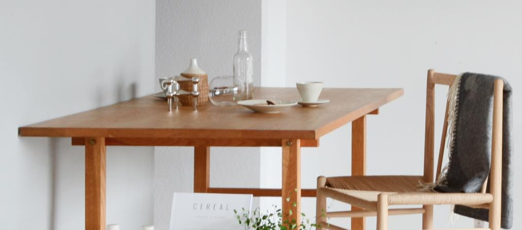 Dining Table 1500_デザイン