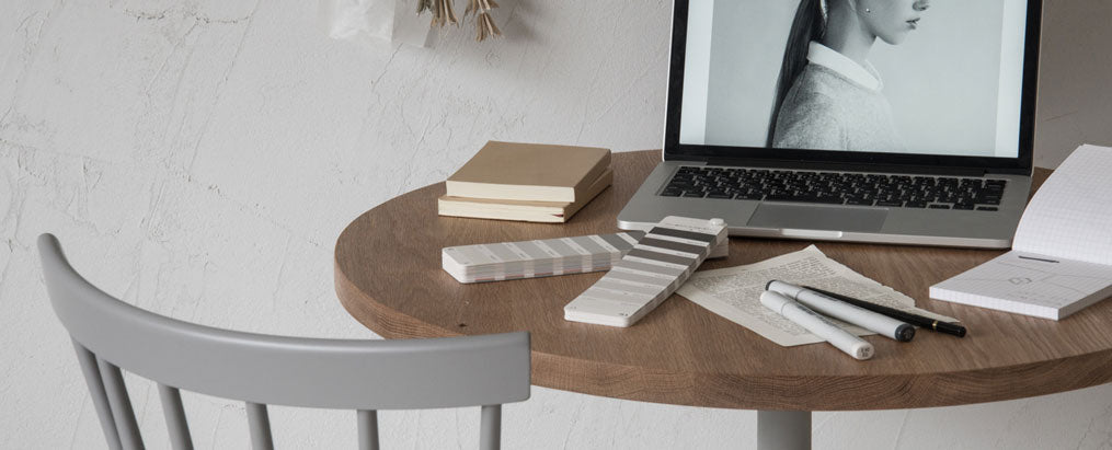 Round Cafe Table Φ700_デザイン