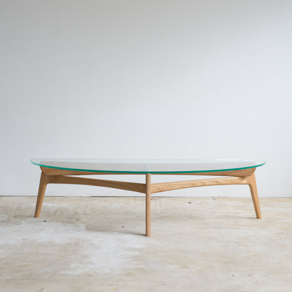 Luu Table(glass top)