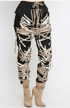 "Load image into Gallery viewer, ""Entangled"" Lace Up Joggers"