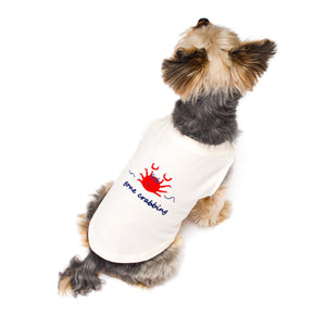 gone crabbing Dog Stretch Shirt