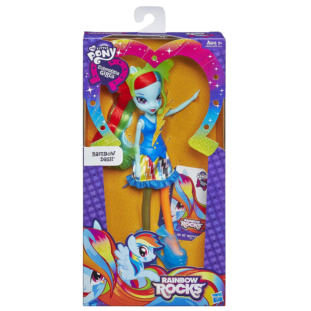 My Little Pony Equestria Girls Rainbow Dash Doll (neon Rain