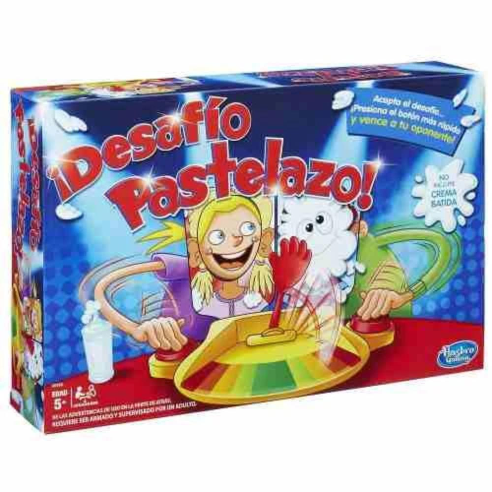 Pastelazo Desafio Doble Pie Face Showdown