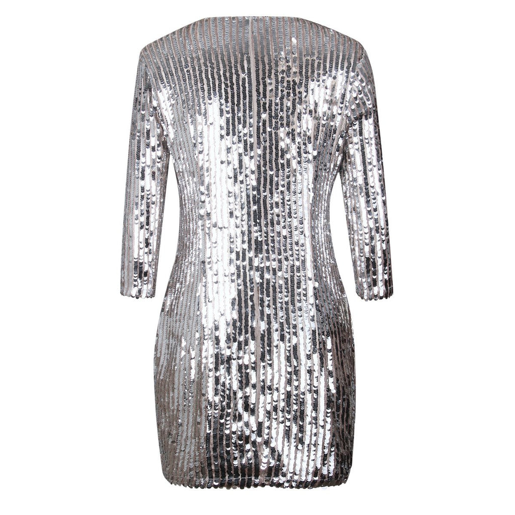 Asia Sequin Dress