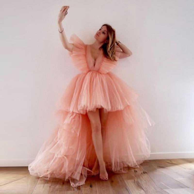Pink Tulle Gown