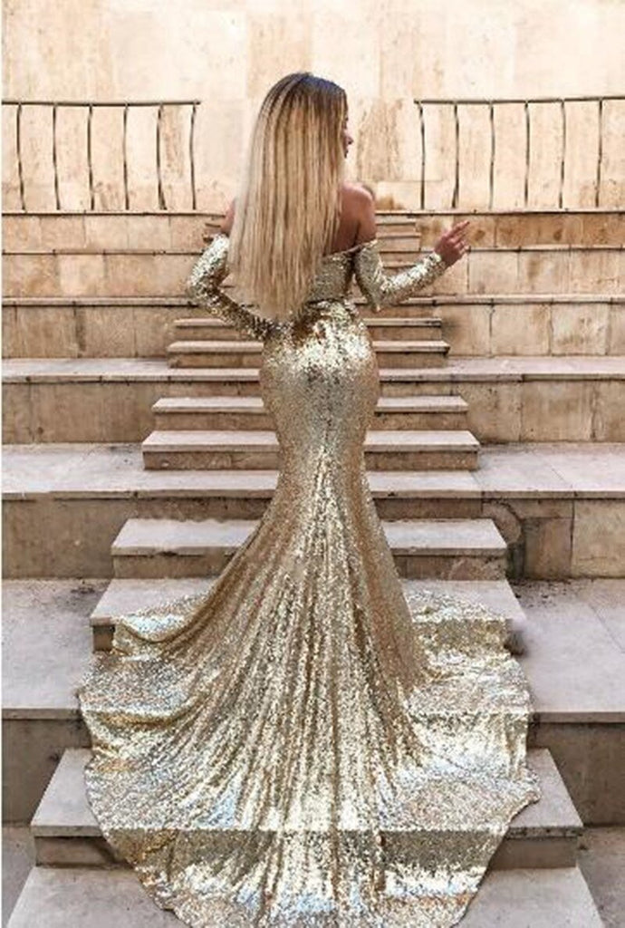 Mermaid Sequin Gown