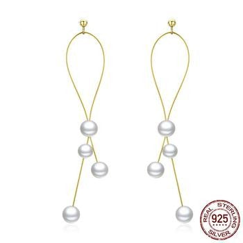 Elegant Pearl Drop Earrings | Earrings for Women| Drop Dangle Earrings
