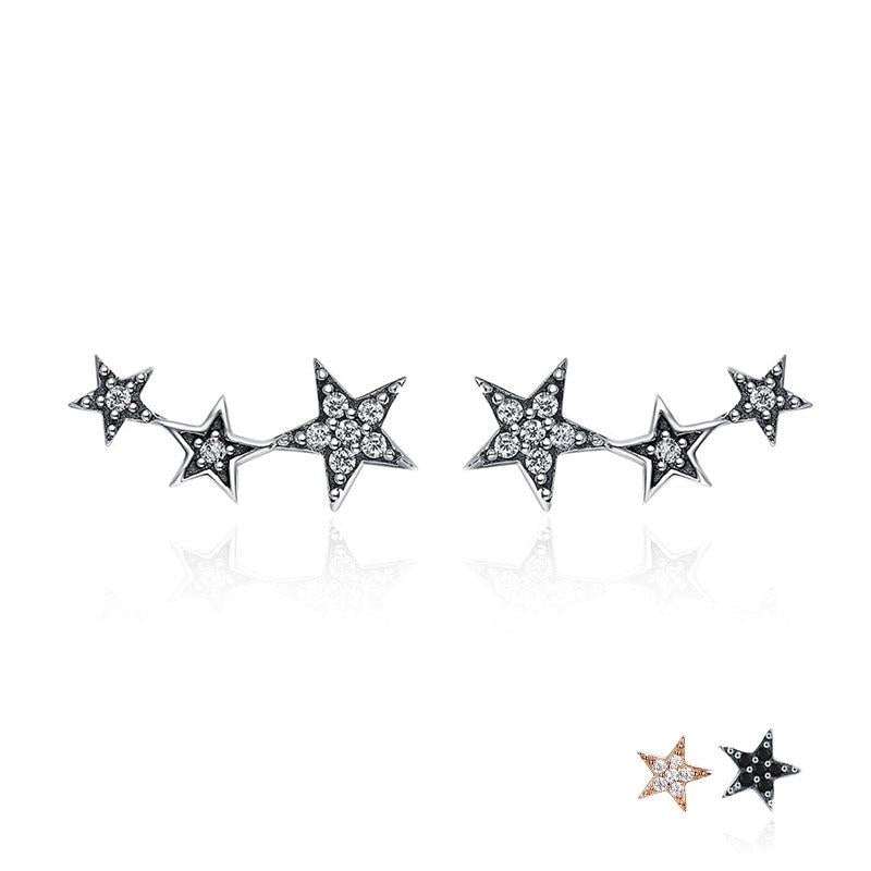 Stackable Star Earrings