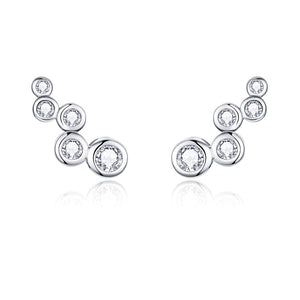 Shiny Bubble Stud Earrings