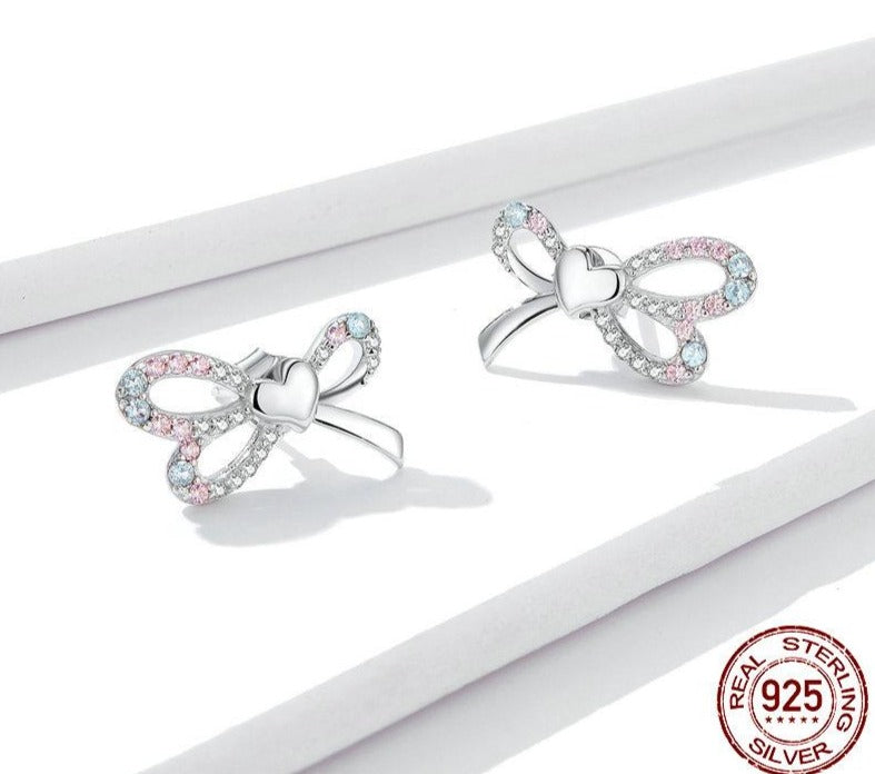 Heart Belt Stud Earrings