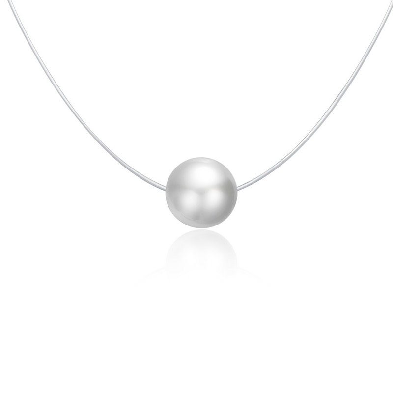 Fashion Chain Necklace | Stylish Silver Ladies Necklace