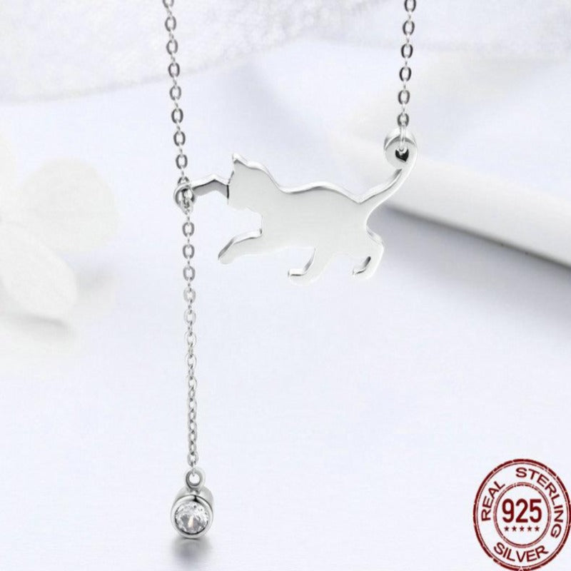 Pussy Cat Necklace | Necklace for Women | Chain Necklaces | Necklace