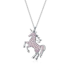 Necklace for Women | Pendant Necklace | Cute Animal Horse Pendant | Jewelry for Girls Women | Little Pony Necklace | Licorne Necklace|