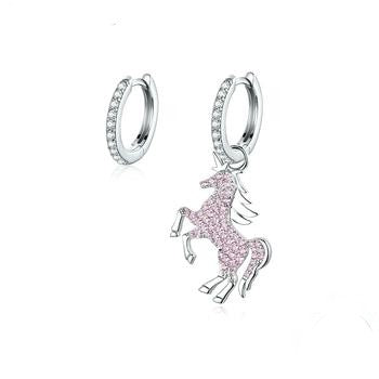 Pink Fancy Licorne Earrings