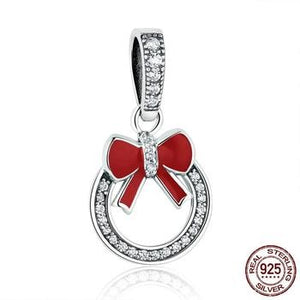 Red Bow Knot Charms | Charms | Jewelry Accessories