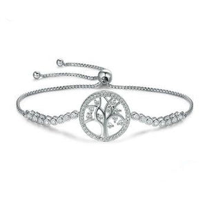 Tree of Life Tennis Bracelet