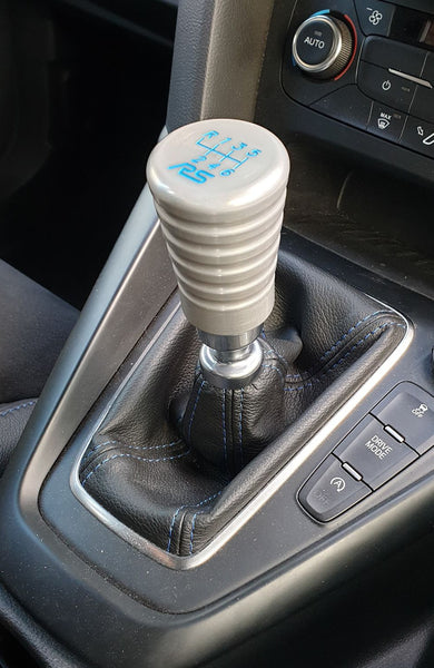 Ford Focus RS Gear Knob - GK3 Design - Brushed Aluminium