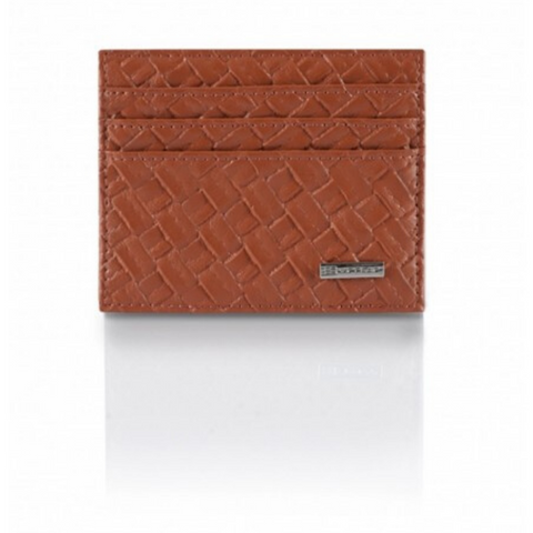 Portafoglio Cross Leather Edition Arancio