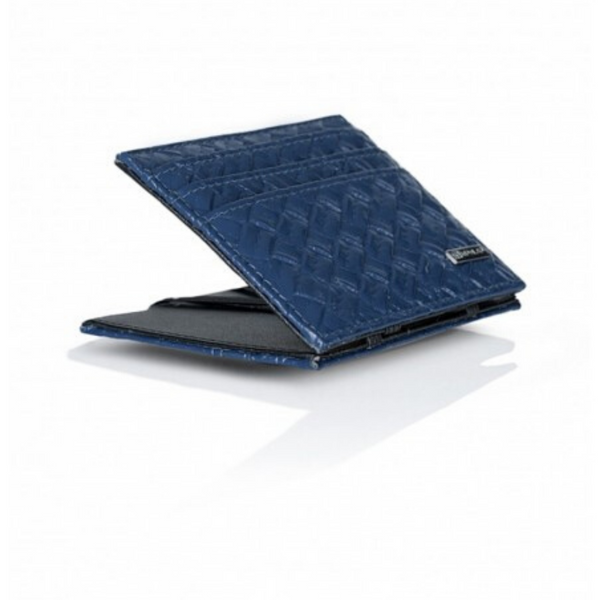 Portafoglio Cross Leather Edition Blu Scuro