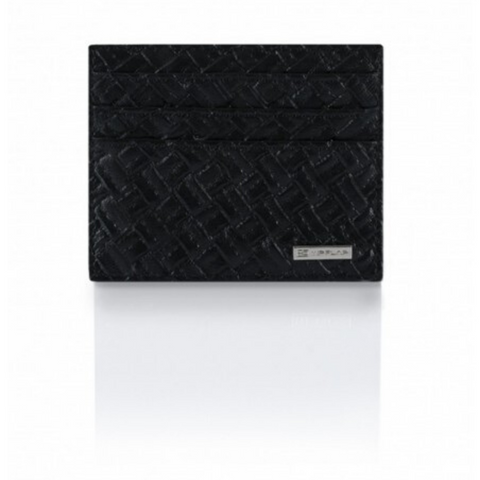 Portafoglio Cross Leather Edition Nero